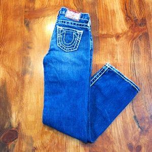 True Religion 8 Girls Bootcut Blue Jean Designer